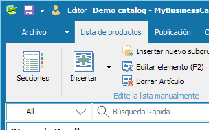 Media catalog main form