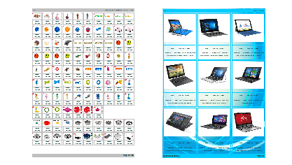 Create catalog software catalog maker for print pdf for Sample product catalogue template