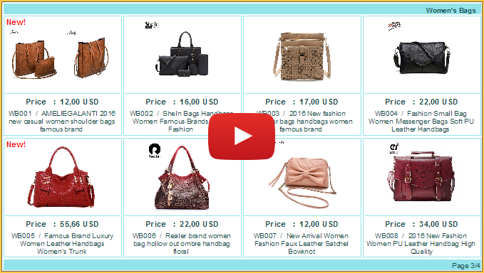 Product Catalog For You 8 Items Per Frame Video Template 01 Pp And 008